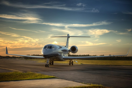 Private Jet banner